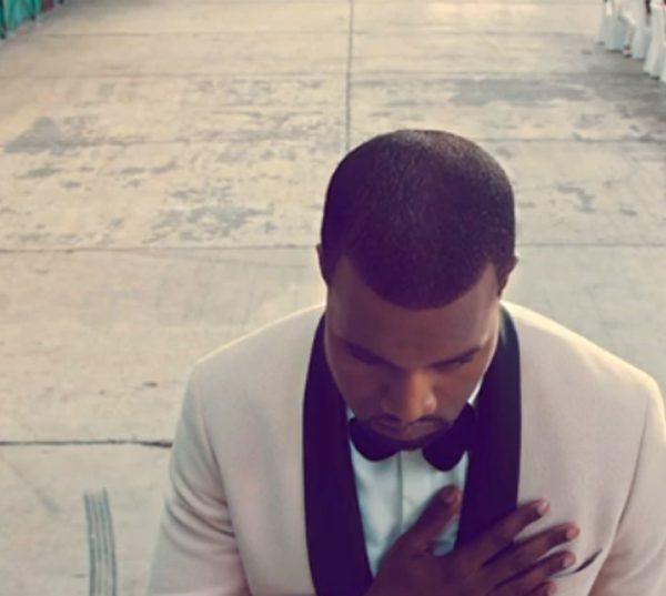 Kanye West Runaway Black Tie