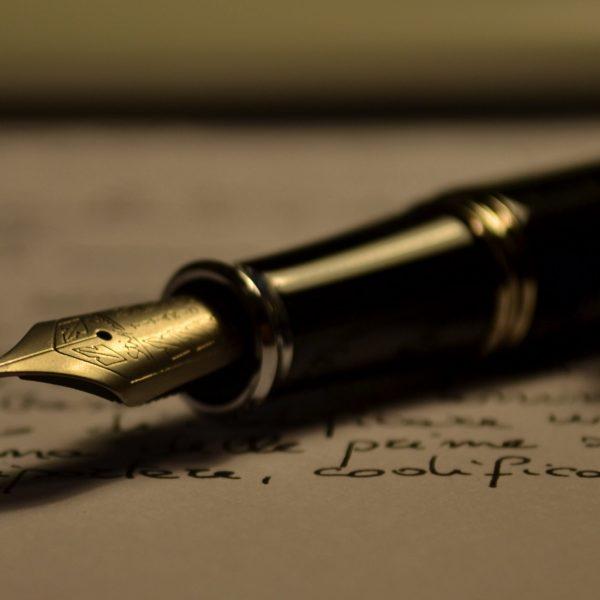 Scrie corect - Fountain pen